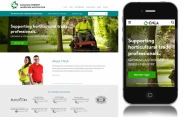 Canadian Nursery Landscape Association Screenshot
