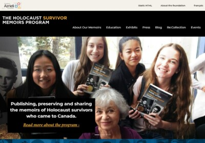 The Holocaust Survivor Memoirs Program Thumbnail